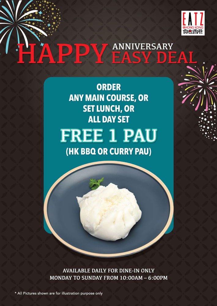 1st Anniversary Easy Deal